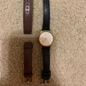 Fossil Watch- interchangeable bands
